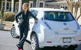 Amy Nissan Leaf